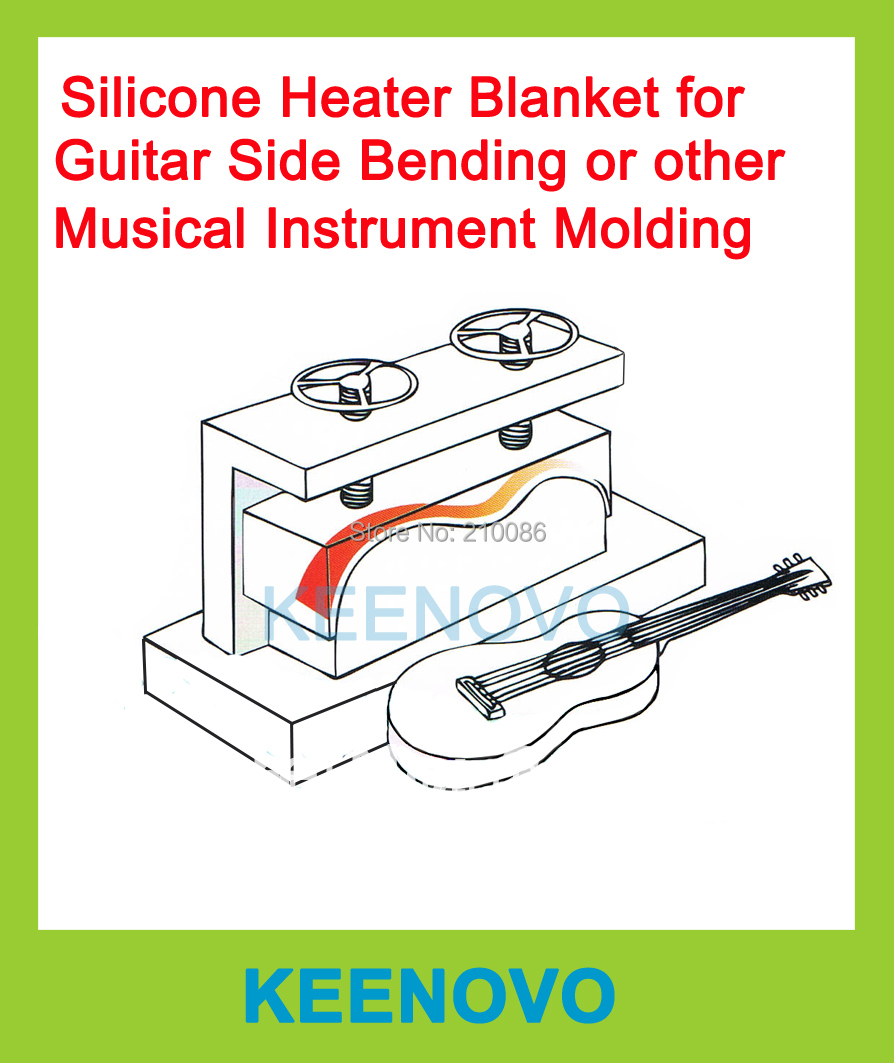 package sale guitar musical instrument bending machine mould mold thermal blanket flexible silicone heaters 152x914 150x200mm [ 894 x 1063 Pixel ]