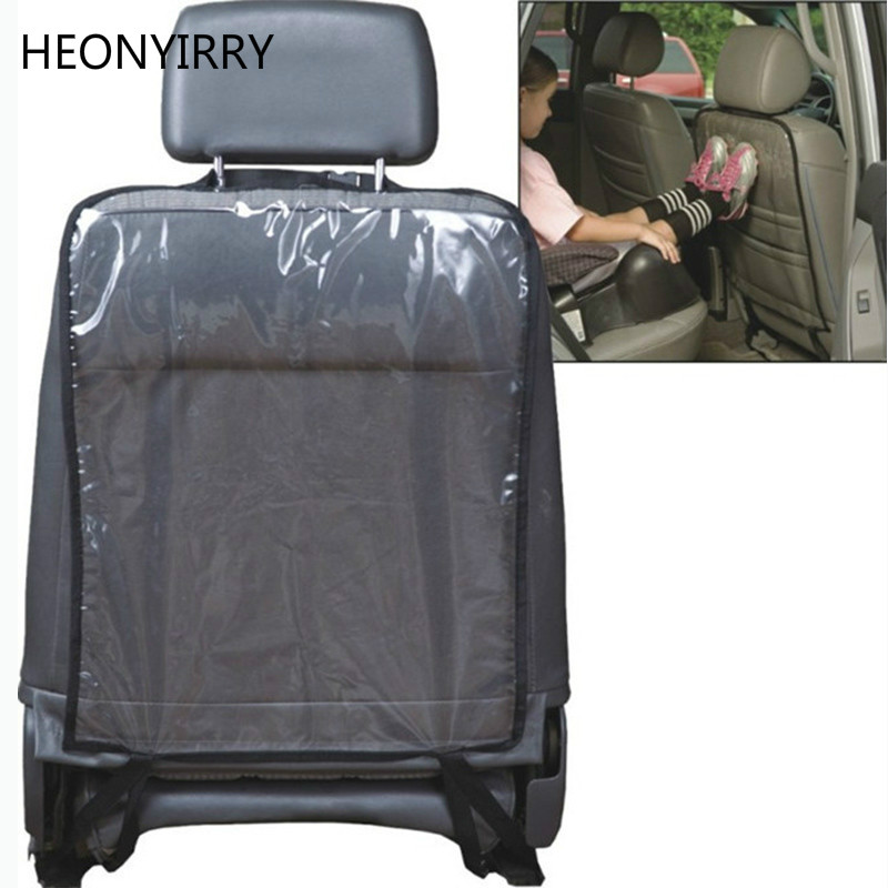 Car Auto Seat Back Protector Cover Back Seat Automobiles Seat Covers For Children Babies Kick Mat Protects From Mud Dirt 59x43cm