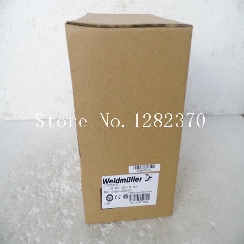 New original Weidmuller Power CP SNT 120W 12V 10A spot 7760052107 sante family шампунь для блеска с био апельсином и кокосом 200 мл