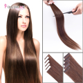 Remy Tape In Human Hair Extensions Brazilian Straight Tape Hair Extensions 2.5g/Strand Brazilian Remy Human Hair Tape Extensions