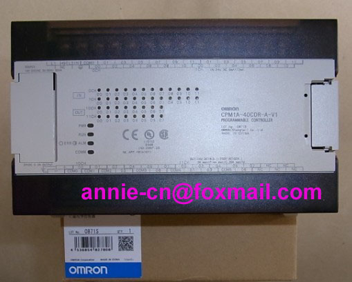 New and original  CPM1A-40CDR-A-V1    OMRON     PLC Controller dhl ems 1pc c40p cdr a plate used original for omron plc io board