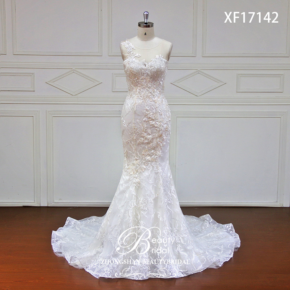 Trumpet Wedding Gowns With Sleeves: Aliexpress.com : Buy High End Dream Elegant Appliques Lace