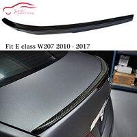 W207 AMG Stil carbon Heckspoiler Stamm Boot Lip für Mercedes E klasse C207 2 tür Coupe 2010  2017 E200 E250 E300 E350-in Spoiler & Flügel aus Kraftfahrzeuge und Motorräder bei