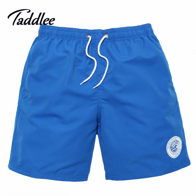 Taddlee Brand Mens Beach Boxer Trunks Boardshorts Man Swimwear Swimsuits Short Pants Quick Dry Men Active Bermudas Bottoms