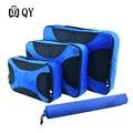 Accesorios de Viaje Bolsa de Lona de Nylon Impermeable transpirable 4 Unidades Cubos de Embalaje Organizadores Ajuste En La Maleta de Equipaje