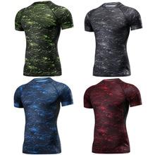 Боксерская ММА футболка Рашгард ММА тренажерный зал Футболка боевые искусства Фитнес Обучение Муай Тай футболка для мужчин Homme 4 цвета