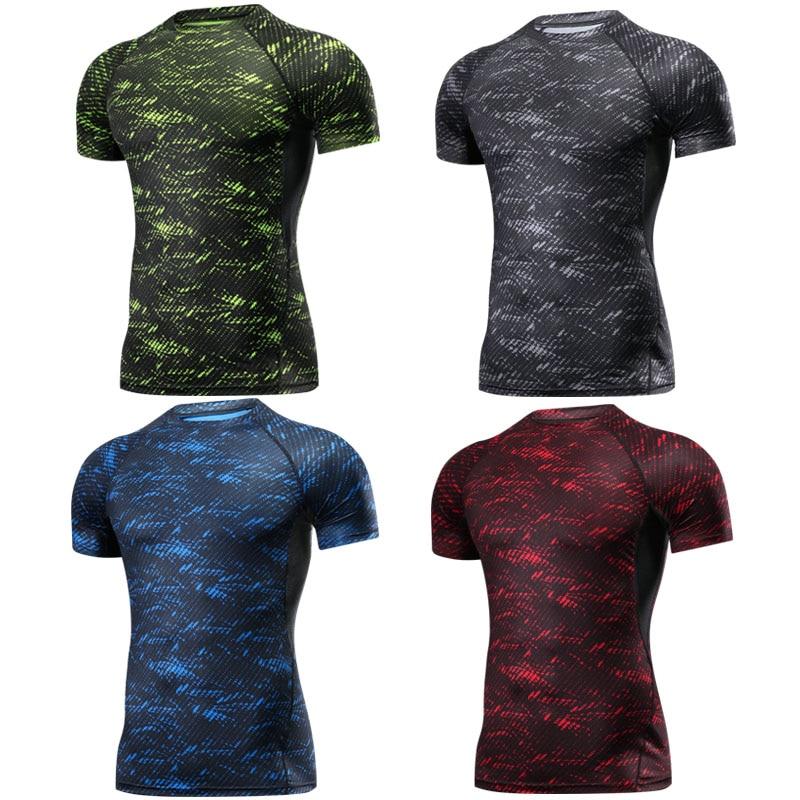 Boxe MMA Camiseta Rashguard MMA Ginásio Camiseta Combate Marcial artes de Formação de Fitness Muay Thai Camiseta Homme Men 4 Cores