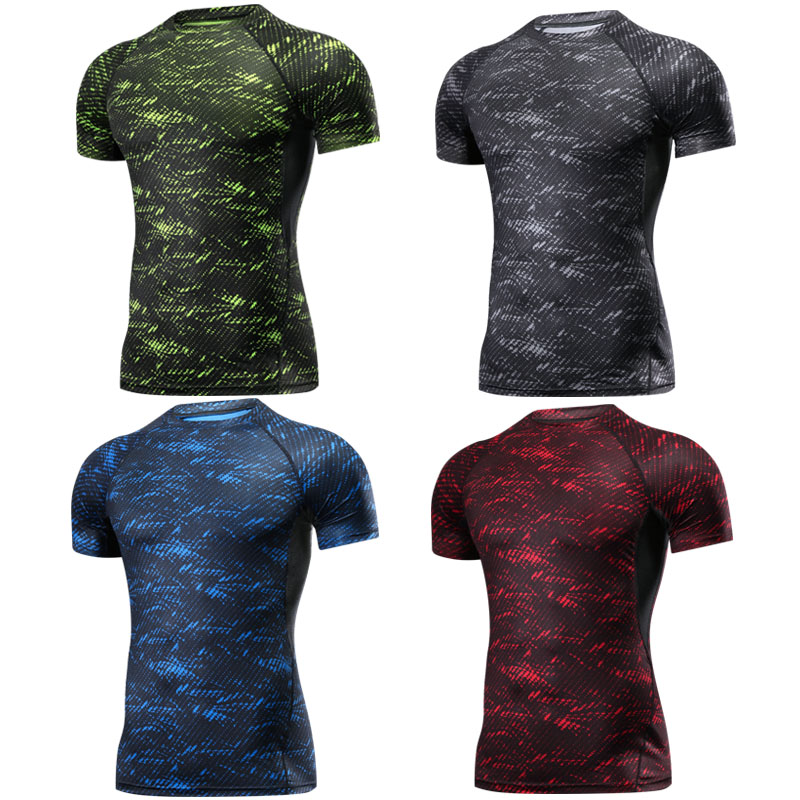 Boxing MMA T Shirt Rashguard MMA Gym Tee Shirt Fighting Martial Arts Fitness Training Muay Thai T Shirt Men Homme 4 Colors