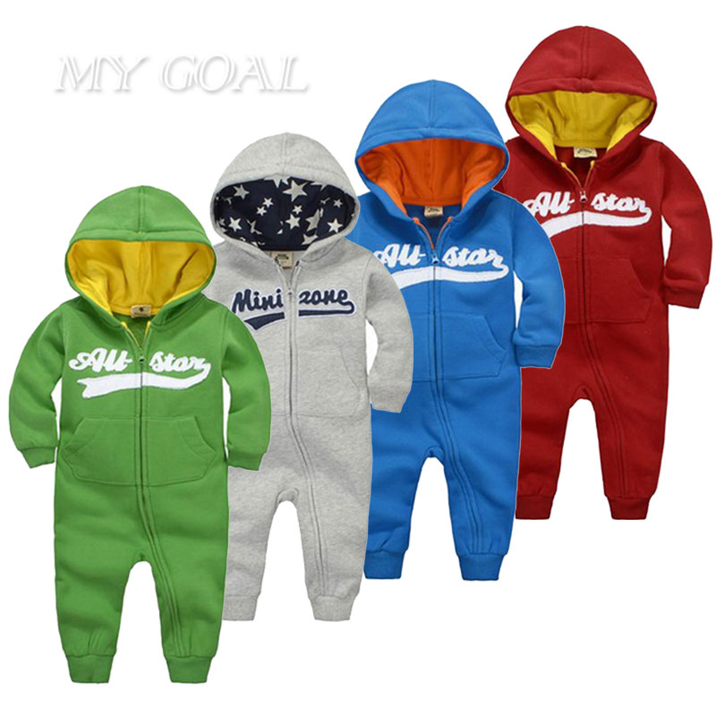Baby rompers Newborn Cotton tracksuit Clothing Baby Long Sleeve hoodies Infant winter spring Boys Girls jumpsuit baby clothes 2016 new newborn baby boys girls clothes rompers cotton tracksuit boys girls jumpsuit bebes infant long sleeve clothing overalls