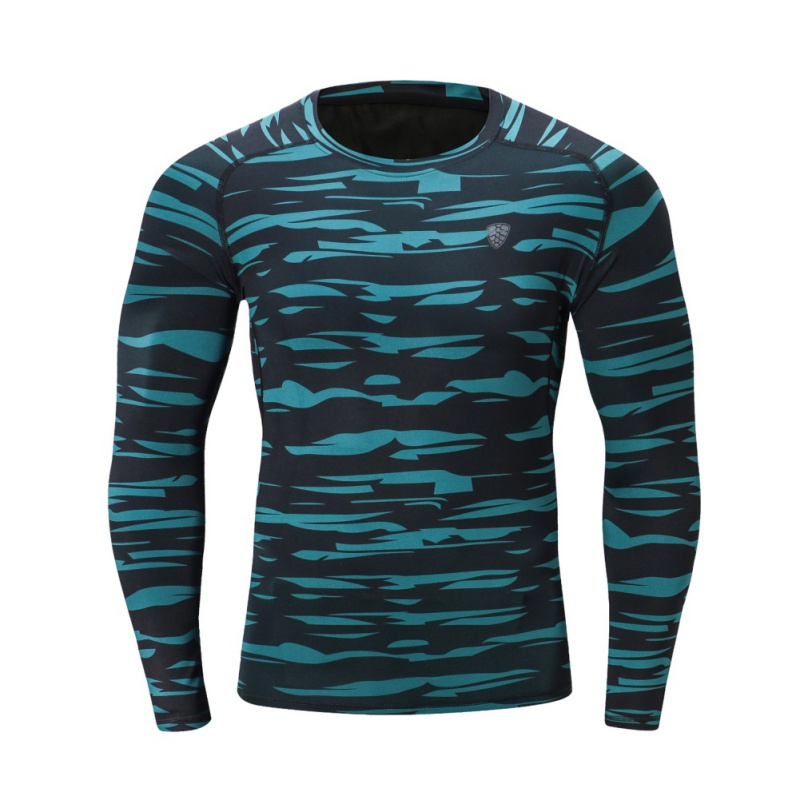 FANNAI 2018 High Quality Outdoor Sport Quick-Dry Breathable Men's  Long Sleeve T-Shirts Bodybuilding Wear