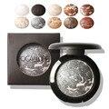 12 Colors Baked Palette Shimmer Metallic  Makeup Glitter CreamPalette For Women