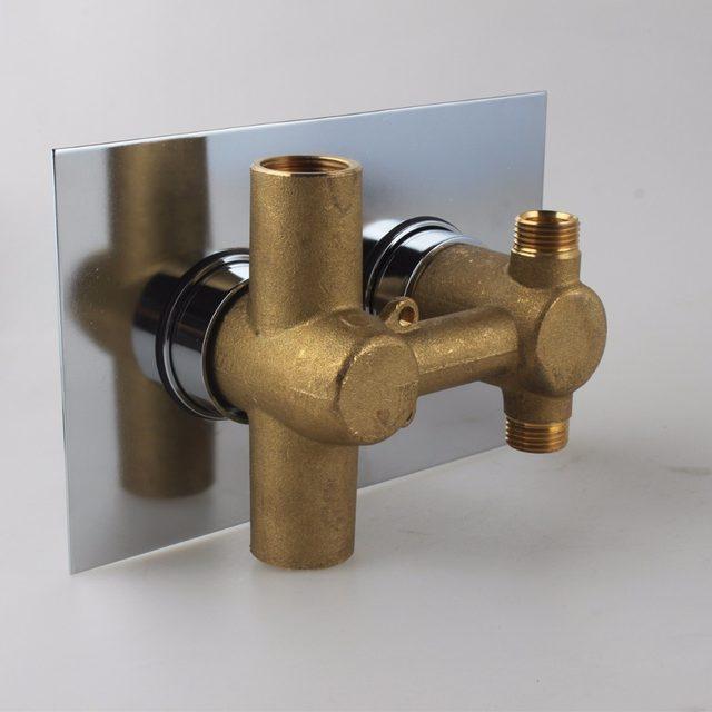 Online Shop High Flow Brass Concealed Thermostatic Shower Valve ...