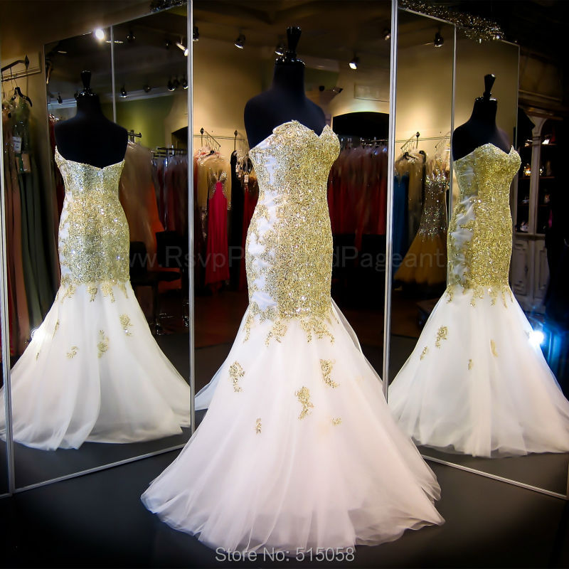 Popular Wedding Dresses with Gold Embroidery-Buy Cheap Wedding ...