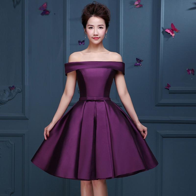 Moderno Vestido De Cóctel De Color Rojo Oscuro Composición - Ideas ...