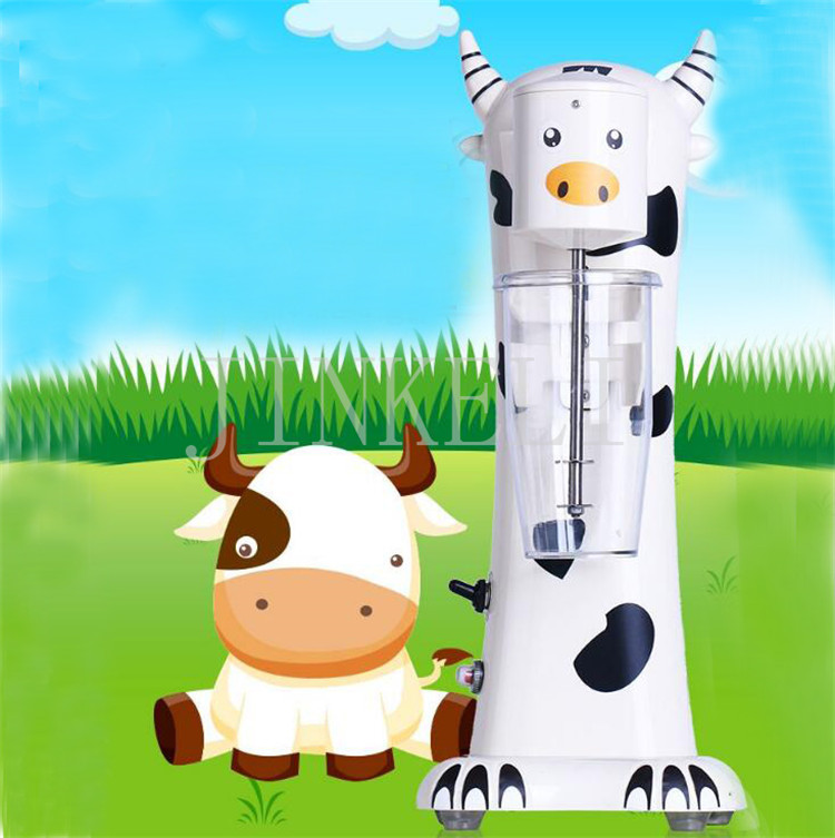free air ship Commercial Cartoon Milk Shake Machine Single Head Mixer Blender Make Milks Foam/Milkshake Bubble Tea Machine