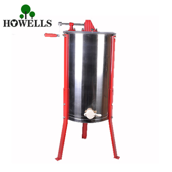 High Quality 2 Frame Manual Honey Extractor Beekeeping Equipment Stainless Steel Manual Honey Extractor