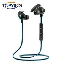 цена на AMW-810 Bluetooth Earphone Wireless Headphone Sport Running Headset Bluetooth Earpiece with Microphone Noise Cancelling Phones