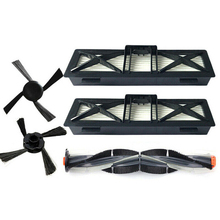 Main Brush + Side Brushes Filters Kits For Neato D Series D7/D5/D3/D7500
