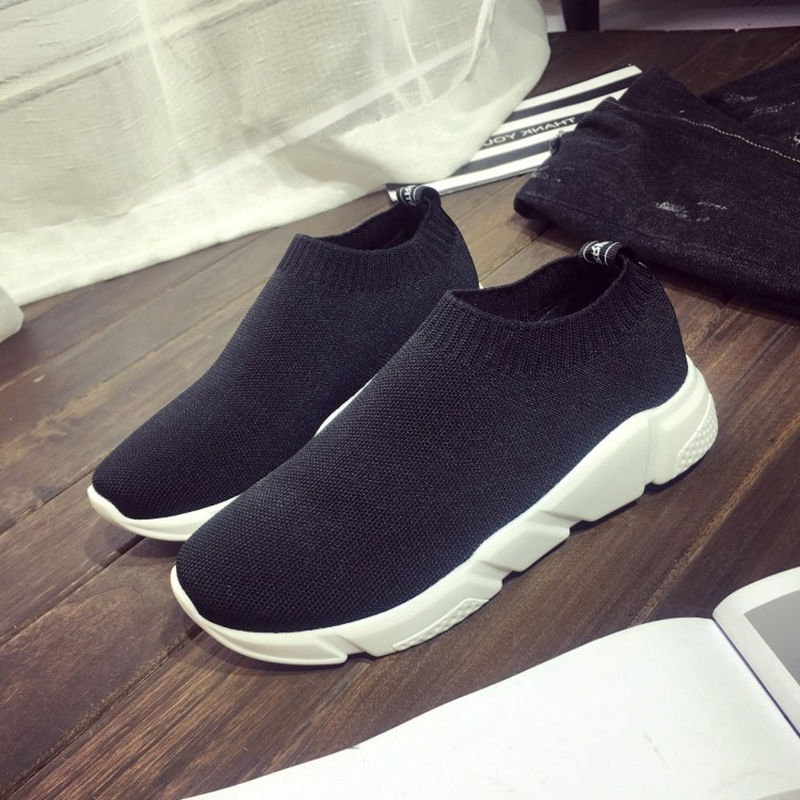 Women Casual Shoes 2018 New Arrival Women's Fashion Air Mesh Summer Shoes Female Slip-on Plus Size 35-40 Shoes footwear 707W women s shoes 2017 summer new fashion footwear women s air network flat shoes breathable comfortable casual shoes jdt103