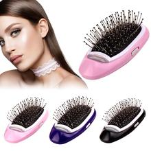 Get more info on the Ionic Electric Hairbrush, Portable Electric Ionic Hairbrush Negative Ions Hair Comb Brush Hair Modeling Styling Magic Hairbrush