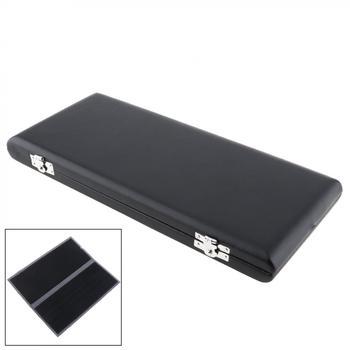 Czarny obój z trzciny pomieścić 20 sztuk trzciny skóra PU Reed pakiet akcesoria do instrumentów muzycznych tanie i dobre opinie NoEnName_Null CN (pochodzenie) MIA_61C