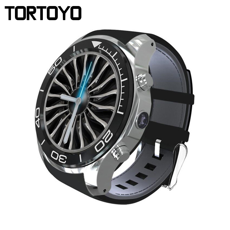 TORTOYO S11 Plus Round Screen Smart Watch Phone Android 5.1 OS ROM 8GB Smartwatch with HD Camera GPS Speaker Music Player WIFI zgpax s5 watch smart phone dual core 1 54 inch capacitive touch screen android 4 0 512mb ram 4g rom 2mp camera with gps silver black