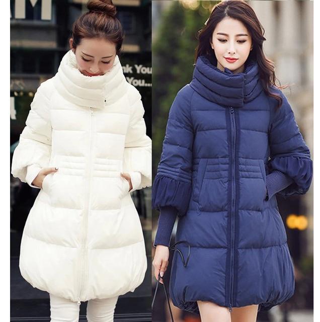 Mujeres maternidad abajo de la capa larga ropa para embarazada abrigos chaquetas de invierno manteau femme enceinte prendas de vestir exteriores vetements grossesse