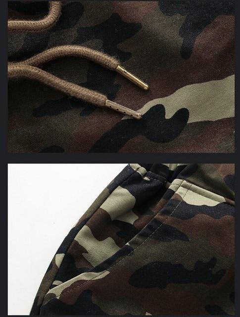 M-5X 2020 Mens Jogger Autumn Pencil Harem Pants Men Camouflage Military Pants Loose Comfortable Cargo Trousers Camo Joggers 6