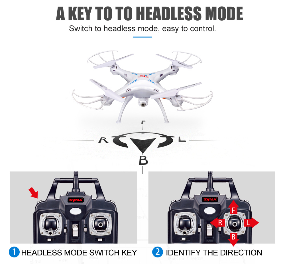 SYMA Official X5SW Drones with Camera HD WiFi FPV Real Time transmission RC Helicopter Quadrocopter RC Dron with Extra Battery 5