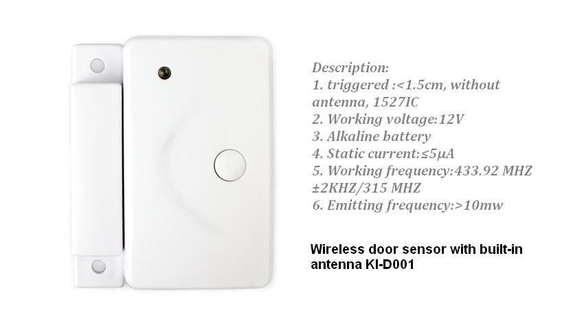 Wireless door sensor KI-D001