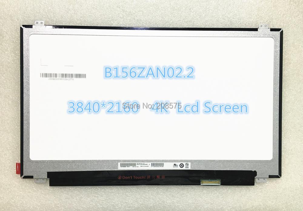 Free shipping Original New B156ZAN02.2 B156ZAN02.3 15.6 inch UHD 3840*2160 4K resolution Laptop LCD screen free shipping 5pcs lot top254en t0p254en offen use laptop p 100% new original