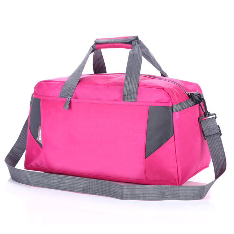 Sports Nylon Women Gym Bag Professional Outdoor Men And Women Gym Handbag Hot Female Tra ...