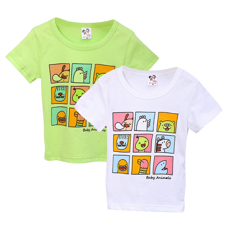 WEIXINBUY-2017-New-Children-Clothes-Boys-Girls-Unisex-T-Shirt-Cartoon-Kids-Short-Sleeve-T-shirts-7-Styles-1