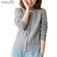 Free Shipping 2015 New Women S O Neck Cashmere Twist Knit Sweater Pure Wool Winter Spring