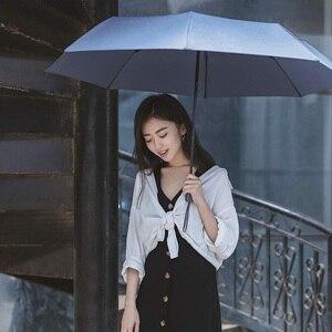 Image 2 - Youpin duży i wygodny uniwersalny parasol ze światłem i przenośny parasol wzmocniony parasol ochrona przeciwsłoneczna UPF40 + anty uv
