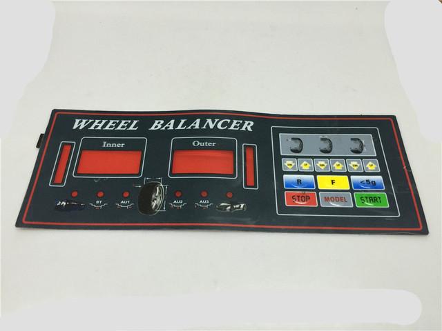 STARPAD Pneu máquina de balanceamento balanceamento instrumento acessórios Ohira placa de exposição placa chave do painel interruptor do painel de toque frete grátis