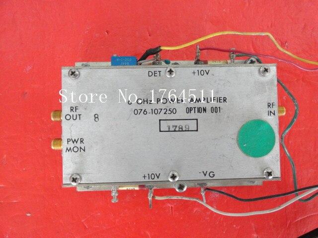 [BELLA] HARRIS 076-107250 6GHz 10V SMA Supply Amplifier