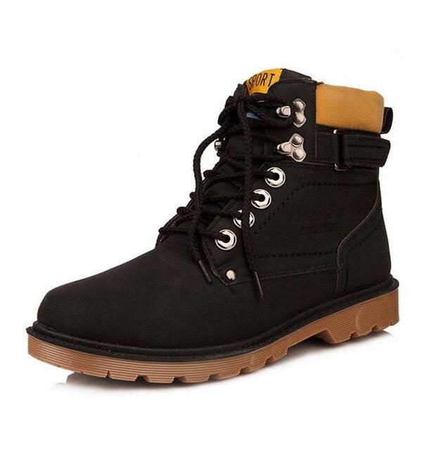 2017 Новые мужские ботинки Ботинки Безопасности 3 Цвета кроссовки для мужчин Модные ботинки. CFJ-068