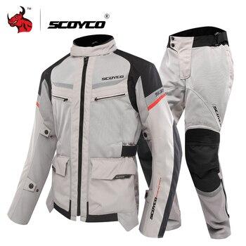 SCOYCO Motorkerékpár kabát Nyári
