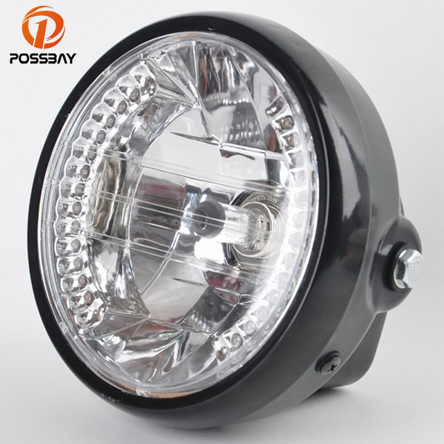 Aliexpresscom Buy Possbay 35w H4 Halogen Motorcycle Headlight