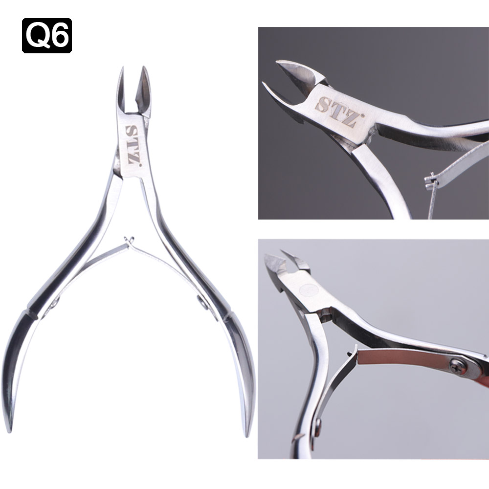 1PC Podiatry Nail Clippers Nail Correction Nippers Clipper Cutters Dead Skin Dirt Remover Stainless Steel Knife Pedicure JIQ1-8