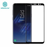 Tempered Glass Screen Protector For Samsung Galaxy S9 S9 Plus NILLKIN Amazing 3D CP MAX Nano