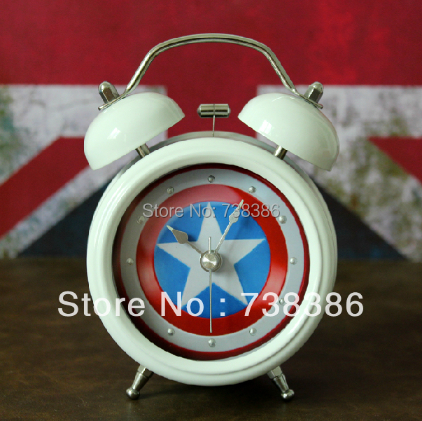 Minimalist Alarm Clock Fashion Home Decor Small Metal