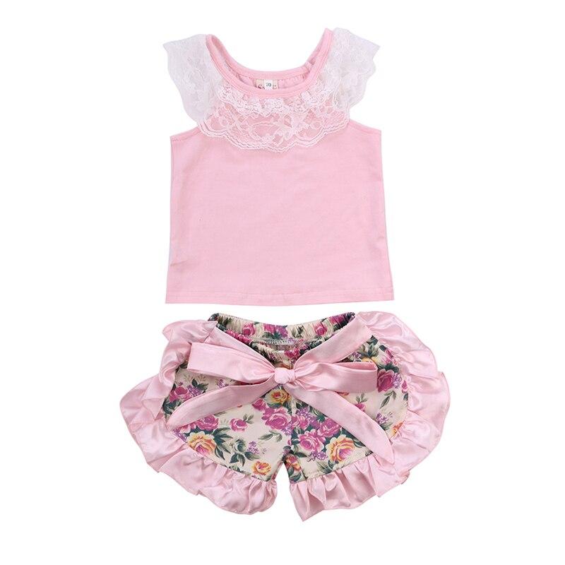 cute newborn baby girls summer sleeveless lace vest tops