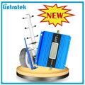 Lintratek display lcd mini gsm 900 mhz mobile phone signal repeater, GSM Amplificador de Sinal De Reforço + Antena Yagi com 10 m Cabo