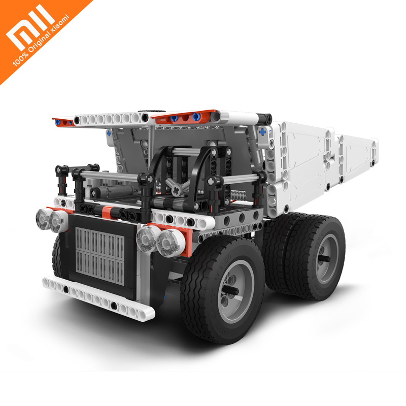 Original Millet Mito Truck Mi Block Finger Rotator Child Gift Safety Portable Generator Smart Mini Child Intelligence Toy HOT цены онлайн