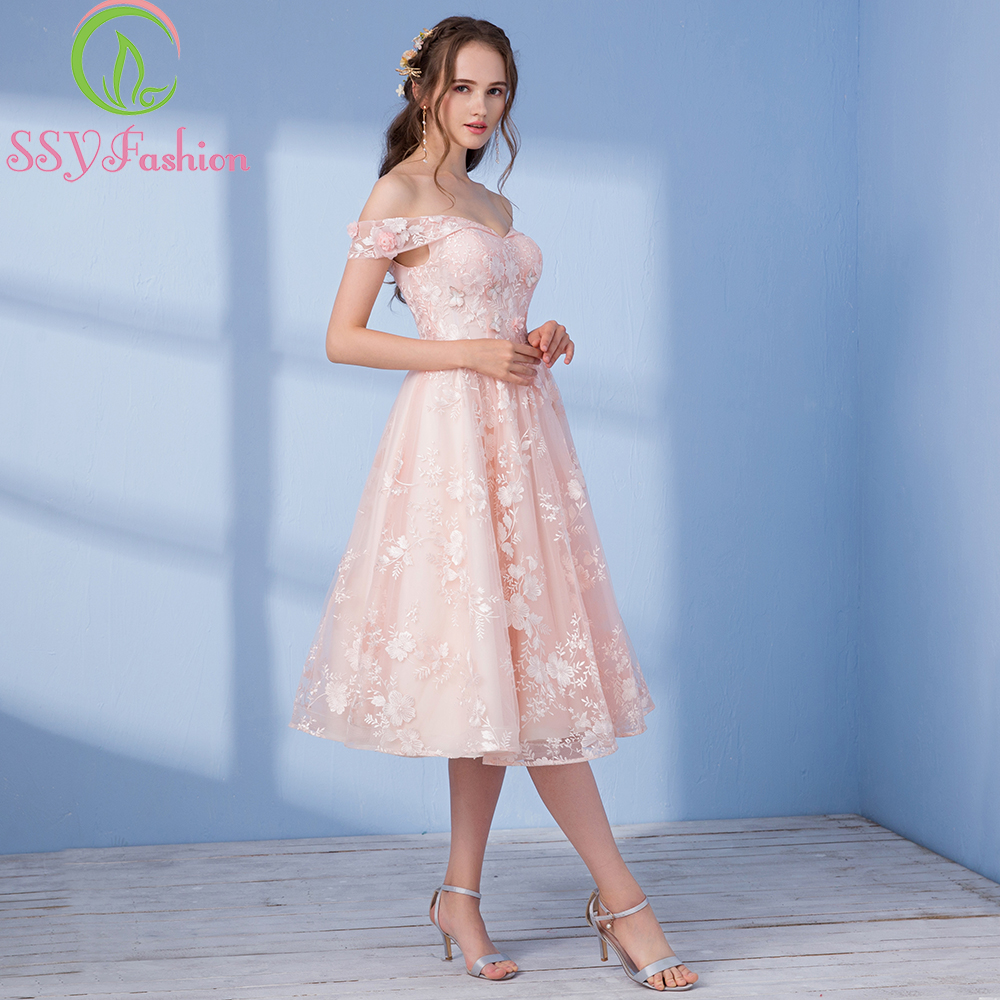 Awesome Short Pink Party Dress Vignette - All Wedding Dresses ...