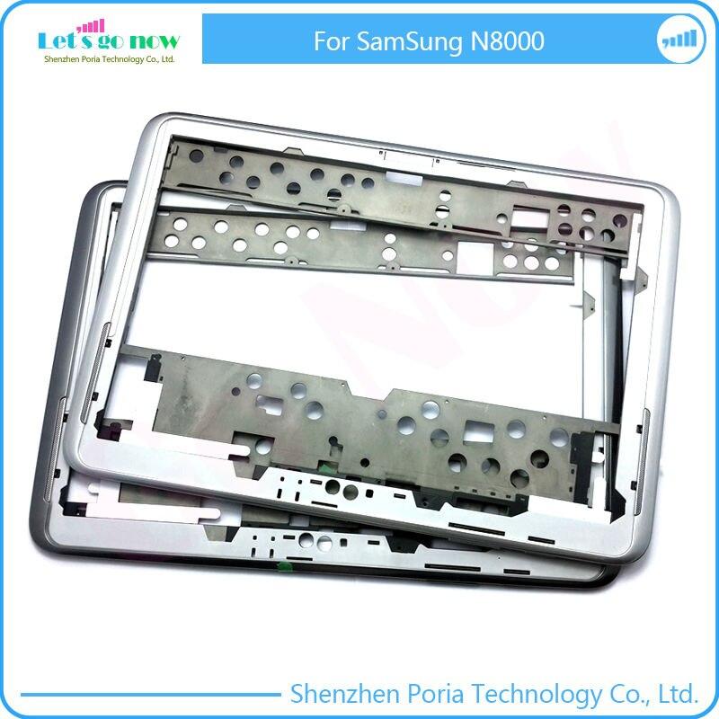 Haute qualité Moyen Cadre Remplacement Pour Samsung Galaxy Note 10.1 N8000/N8010 Logement Lunette Moyen Classis Métal Cadre + outils