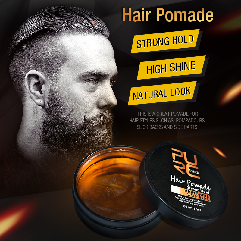 2018 Hot Selling Strong Hold HIGH SHINE Natural Look Hair Pomade Ancient Hair Cream Product Hair Pomade for Hair Styling