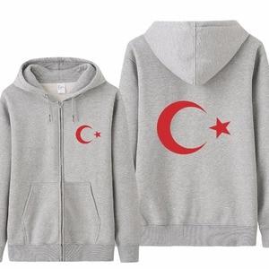 Image 4 - Omnitee Cool Turkey Flag Hoodies Tracksuit Men Casual  Autumn Fleece Jacket Zipper Pullover Turkey Sweatshirt